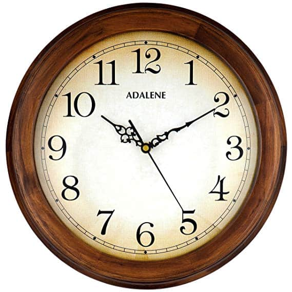 Adalene Wall Clocks Large Decorative For Living Room Décor
