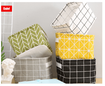 Storage Bins Adorable Stylish Designs