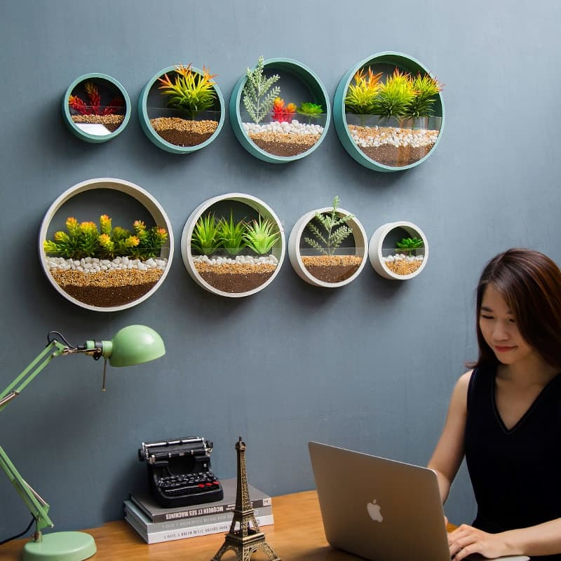 Plan house Ideas With Wall Vase Hanging