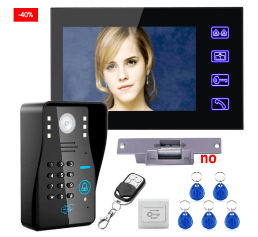 Doorbell Wireless Intercom Home Security System