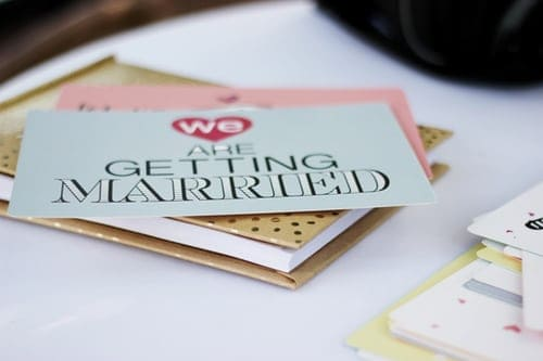 Try Out The Interesting DIY Wedding Cards